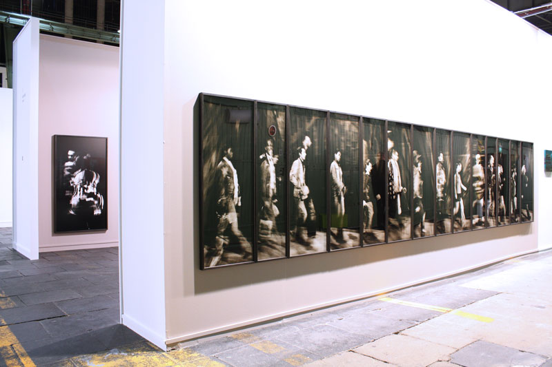 Solo show at PREVIEW Berlin 2011 (exterior wall of the booth)