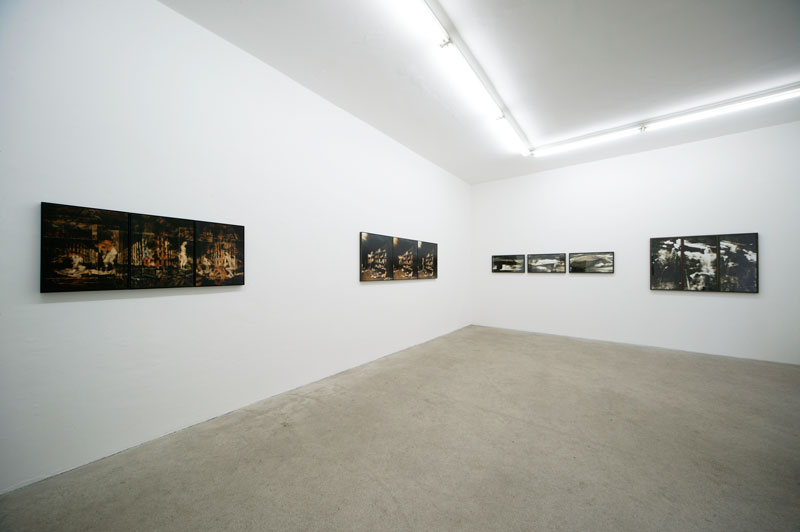 Installation view at Galerie Seitz & Partner